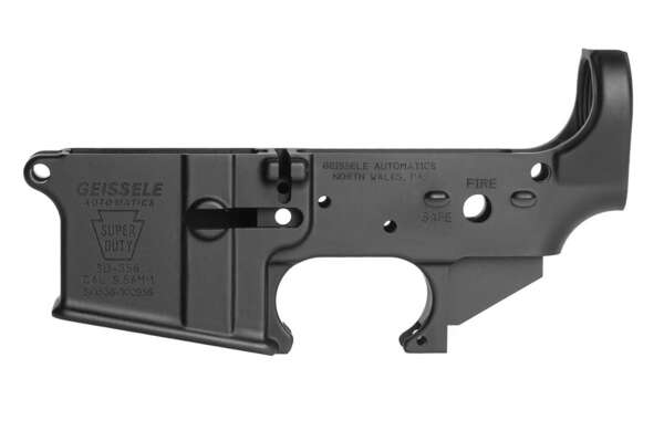 Geissele Automatics Super Duty Stripped AR-15 Lower Receiver - Black