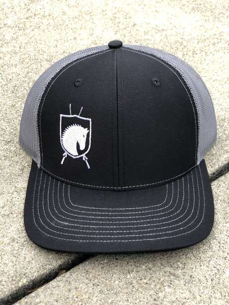 Thoroughbred Armament Hat Black/Charcoal