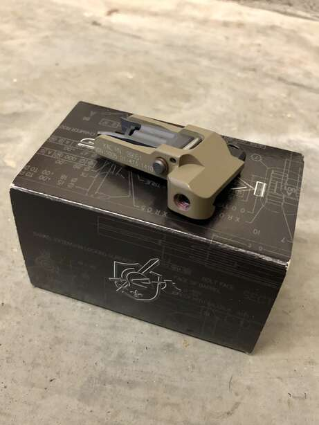 Knight's Armament Folding M4 Front Sight 99051 Taupe