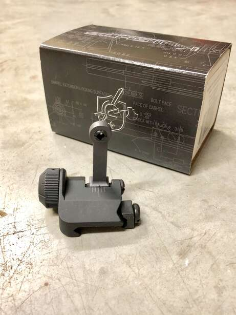 Knight's Armament Folding Rear Sight 300 Meter 97082