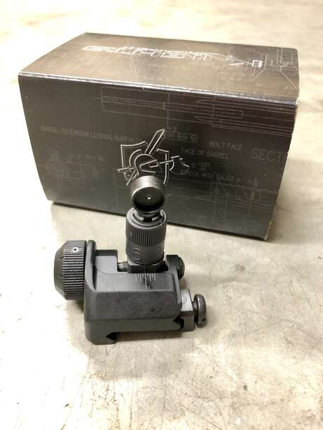 Knight's Armament Folding Rear Sight 600 Meter 98474
