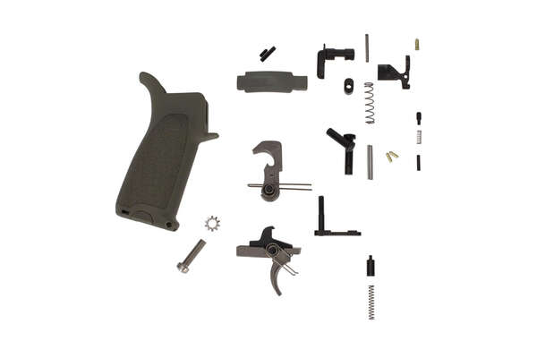 Bravo Company Manufacturing BCMGUNFIGHTER AR-15 Enhanced Lower Parts Kit - Foilage Green