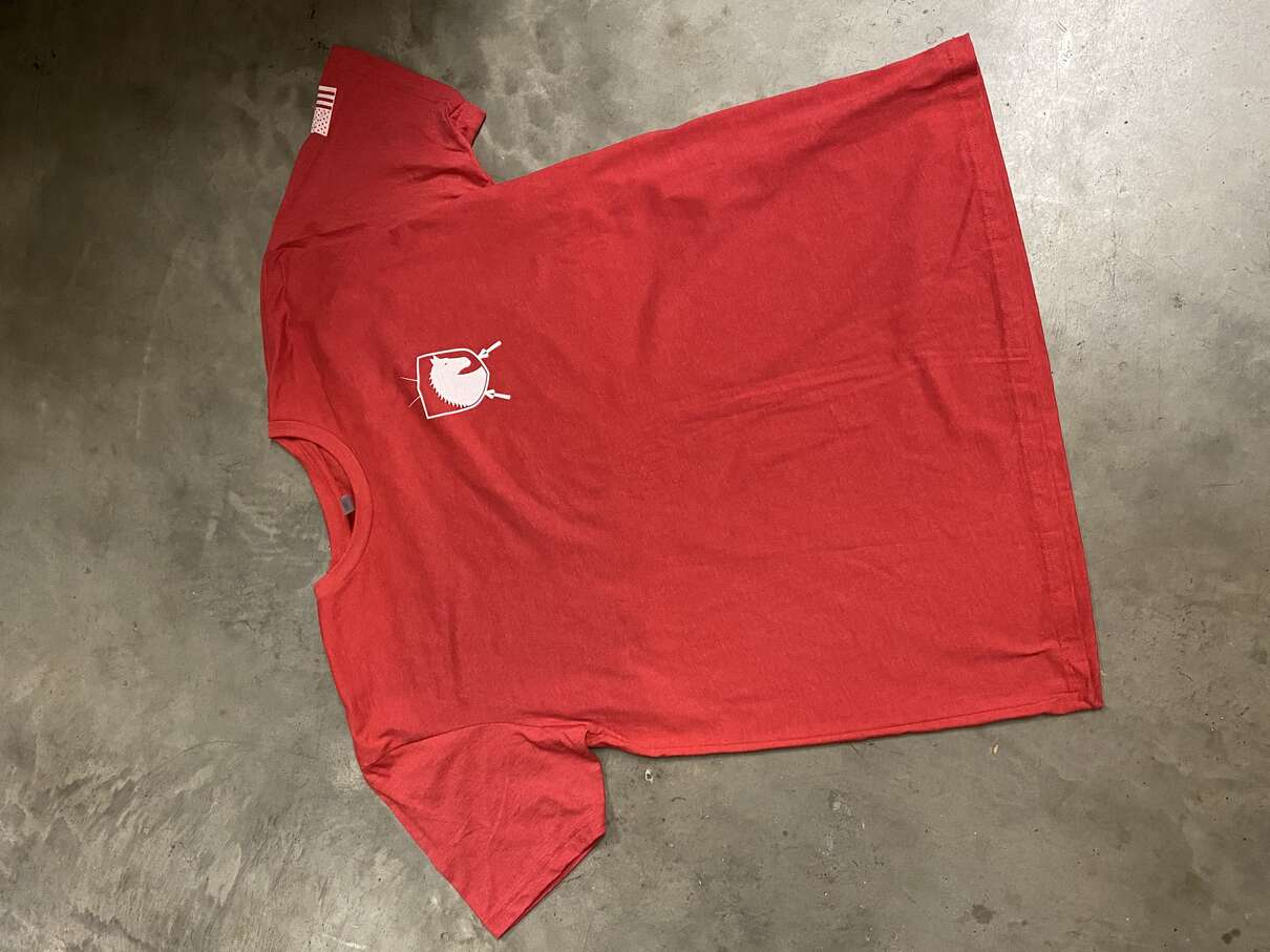 Thoroughbred Armament T-Shirt - Red Medium