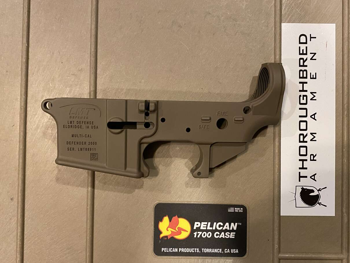LMT Defender Stripped Lower FDE