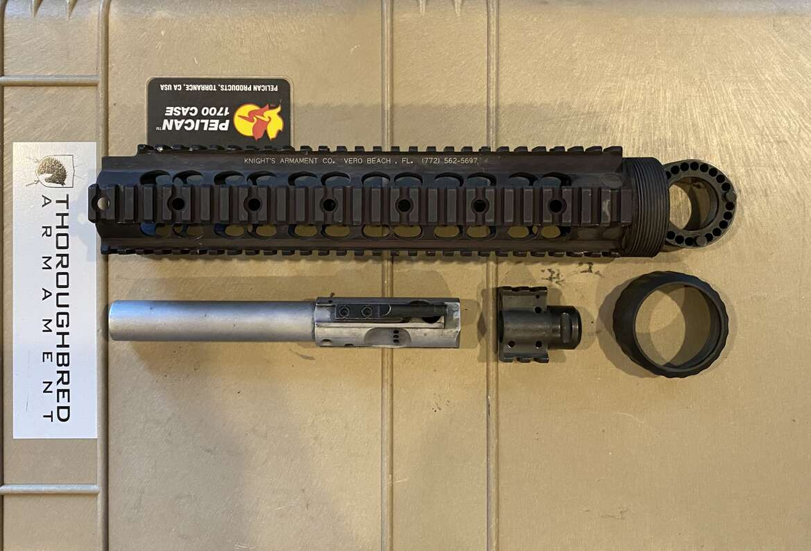 Knight's Armament MK11 Mod O Issued Kit - Black