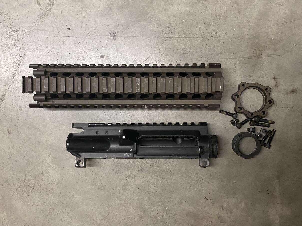Daniel Defense MK18 RIS II - Savannah /Colt C Marked Keyhole M4 Upper