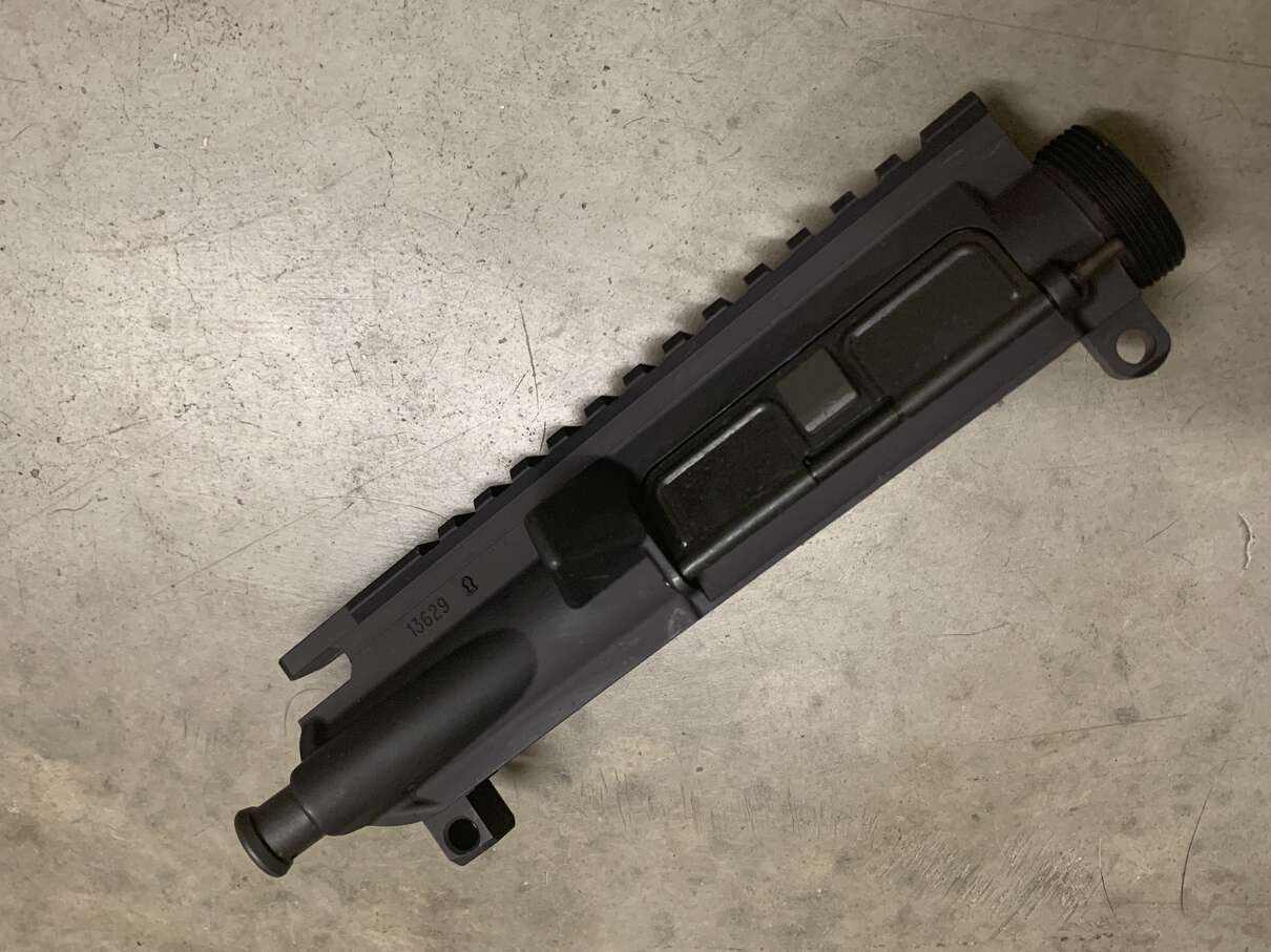Colt M4 Upper Receiver Cage Code Cerro keyhole Forge