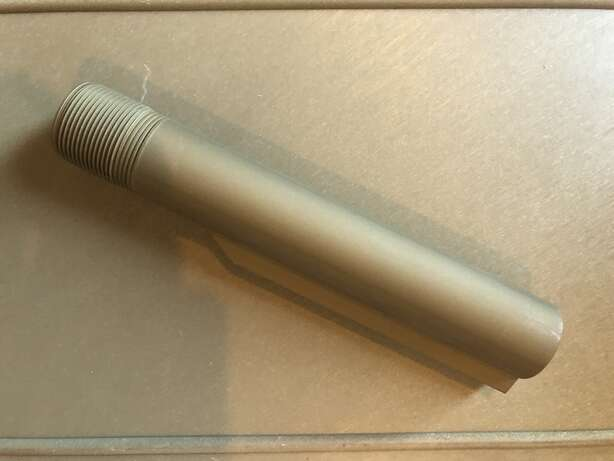 FDE/Tanodized Mil Spec 6 Position Buffer Tube