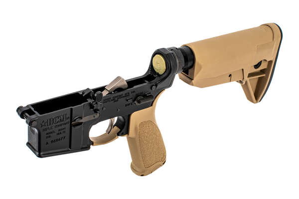BCM Complete Lower Receiver Assembly FDE