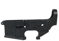 PRI stripped A1 lower receiver with black finish