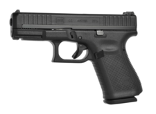 Glock 44 Pistol 22 Long Rifle Fixed Sights 10-Round Polymer Black
